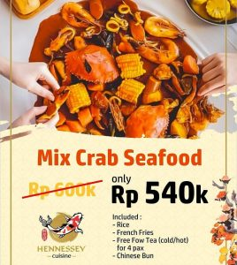 Mix Crab Seafood Hennessey Cuisine Madiun